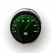 Vector realistic Speedometer