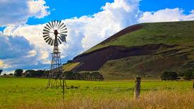 stock photo of scoria  - Mount Elephant volcanic cone - JPG