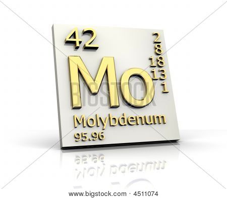 Molybdenum Form Periodic Table Of