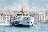 Istambul - 4 de julho: O navio no Porto, em 4 de julho de 2012, em Istambul, Turquia. Turquia - outbou líder da Rússia