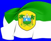 Rio Grande Do Norte Flag, Brazil.