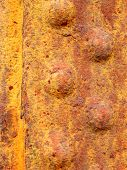 Rusted Rivetted Metal