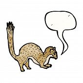 cartoon weasel