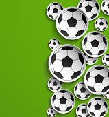Football Abstract Background.