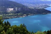 Annecy lake, Annecy, Alps, France