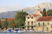 Waterfront Of Hvar Town, Hvar Island, Croatia