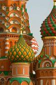 Moscow Saint Basils Cathedral Kupola