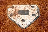 image of little-league  - home plate on a little league baseball field - JPG