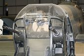 Rear Gun Turret Of A Lancaster Bomber