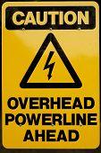 Overhead Powerline Ahead