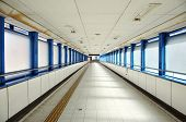 Empty Long Corridor