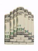 Dollars Cash Pile