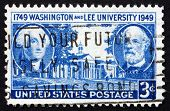 Postage Stamp Usa 1949 George Washington And Robert E. Lee