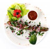kebab isolated