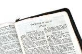 Bíblia aberta a Tito