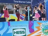 American girl group Fifth Harmony performs at the Arthur Ashe Kids Day2013 at National Tennis Center