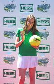 Four-time Olympic gold medalist swimmer Missy Franklin attends Arthur Ashe Kids Day 2013
