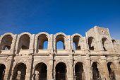 Roman Amphitheatre (circa 90 Ad). Arles, France