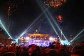New Year Celebration In Berlin