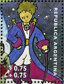 A stamp printed in Argentina shows The Little Prince