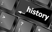 Keyboard And Key History On It