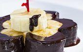 Chocolate Dipped Banana.