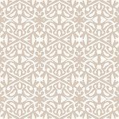 Simple elegant lace pattern in art deco style.