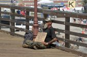 Homeless Marine