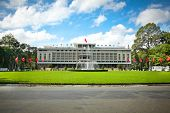 View from Reunification Palace, landmark in Ho Chi Minh City, Vietnam or Independence Palace (DINH T