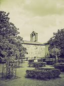 Vintage Sepia San Quirico Orcia, Tuscany, Italy