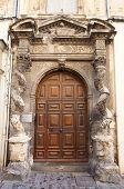 Portal Of Hotel De La Lauziere (xvii C.). Arles, France