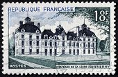 Cheverny Chateau Stamp