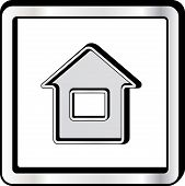 convex house icon