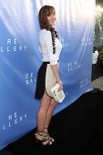 LOS ANGELES - MAY 15:  Nikki DeLoach at the De Re Gallery Opening at De Re Gallery on May 15, 2014 i