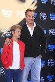 LOS ANGELES - JUN 17:  Adrian Pasdar, Jackson Pasdar at the
