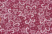 Thai Batik Sarong Pattern For Background.