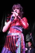 Juliette Lewis performing live.