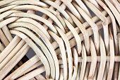 Pattern Of Wicker Basket.