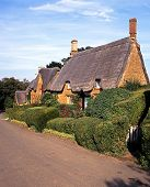 Thatched Cottages, Great Tew, UK.