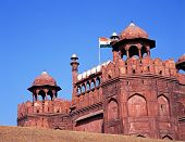 The Red Fort, Delhi, India.