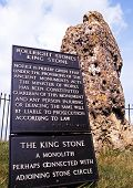 King Stone, Long Compton, UK.