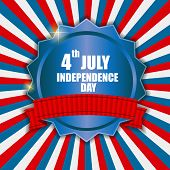 Independence Day Poster Vector Illustration