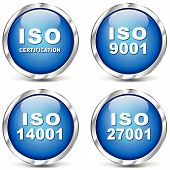 Iso Certification Icons