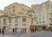 Bank Of France Building In Avignon France