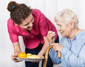 picture of crutch  - Home care service for the elderly - JPG