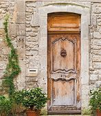 Entrance Doors In Avignon, France