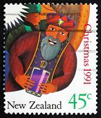 Postage Stamp New Zealand 1991 Wise Man