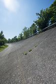 Old Abandoned Racetrack Of Monza