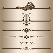 picture of lyre-flower  - Elements for design  - JPG
