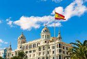 Alicante Explanada de Espana casa Carbonell buiding in Spain